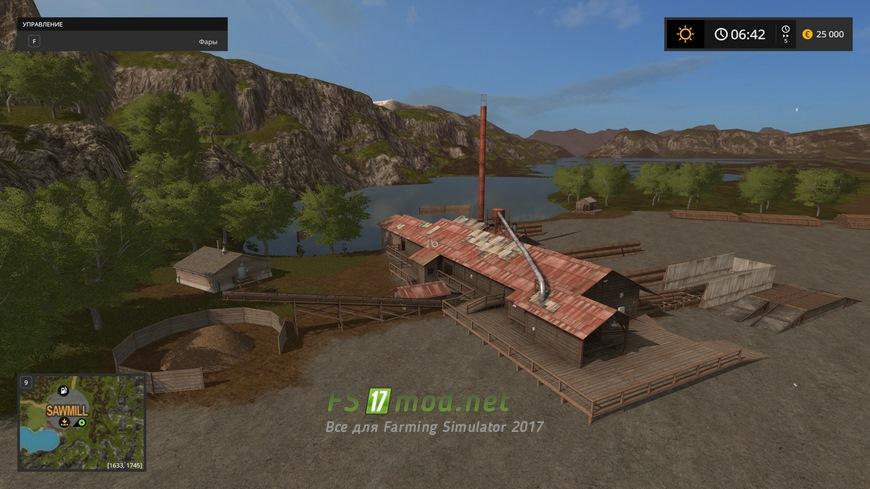 Лес мод для farming simulator 2017 скачать