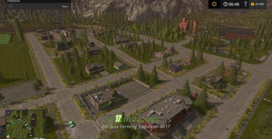 Мод большой карты для Farming Simulator 2017
