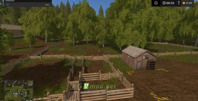 Карта для Farming Simulator 2017 с большим количеством полей