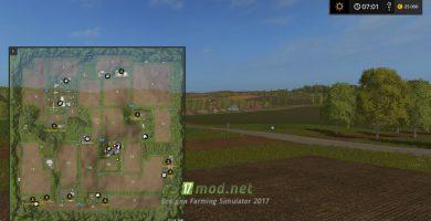 Схема карты westbridge hills в FS 2017