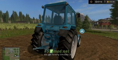Трактор МТЗ 80 для Farming Simulator 2017