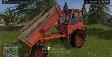 Старый трактор Т-16М для игры FS 2017
