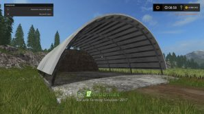 Hayshed Converted From для Farming Simulator 2017