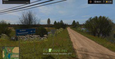 Дороги на карте Бухалово