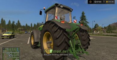 John Deere 8030 для Farming Simulator 2017