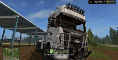 Scania Agro mods FS 2017