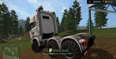 Scania Agro для Farming Simulator 2017