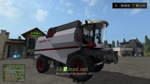 Комбайн Вектор 410 для Farming Simulator 2017
