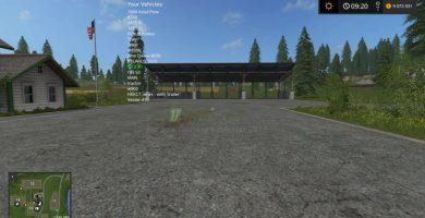 VehicleSort для Farming Simulator 2017