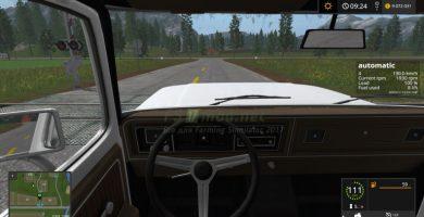 Мод на ручную коробку передач для Farming Simulator 2017