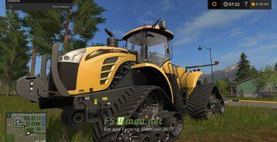 Мод гусеничного трактора CHALLENGER MT900TRAC