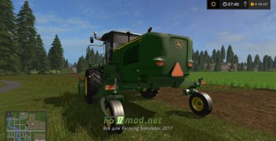 John Deere W260 для Farming Simulator 2017