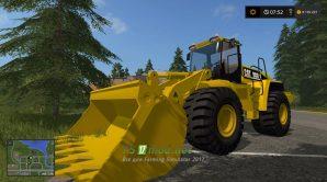 Cat 980H для Farming Simulator 2017