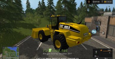 Cat 980H mods FS 2017
