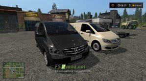Mercedes-Benz Viano для Farming Simulator 2017