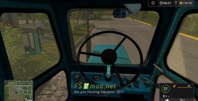 Мод трактора Т-40 АМ для Farming Simulator 2017
