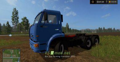 Мод грузовика КамАЗ-65116