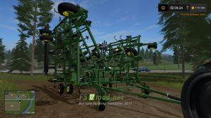 Мод культиватора JOHN DEERE для Farming Simulator 2017