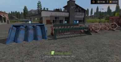 НИВА СК-5 для игры Farming Simulator 2017
