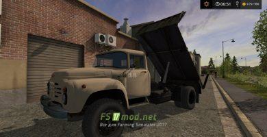 Мод грузовика ЗиЛ 130 для FS 2017