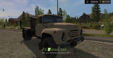 Farming Simulator 2017: мод ЗиЛ 130