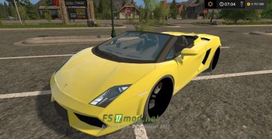 «Lamborghini Gallardo Spyder» для игры Farming Simulator 2017