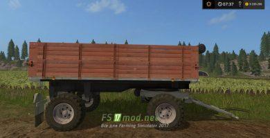 Прицеп BSS P93S для Farming Simulator 2017