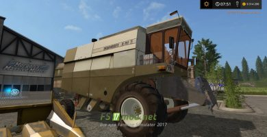 Fortschritt E 516 B для игры Farming Simulator 2017