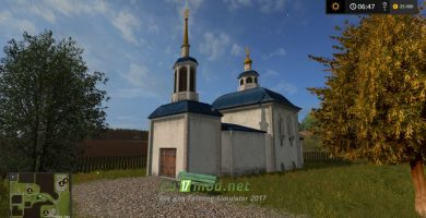Церковь в игре Farming Simulator 2017