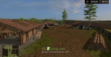 Мод украинской карты для игры Farming Simulator 2017