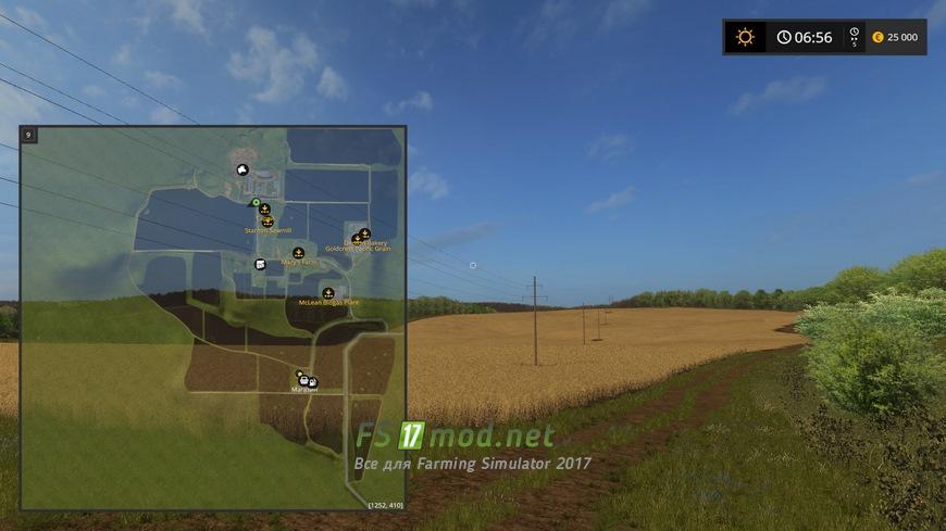 Как сделать карту в farming simulator 2017 130