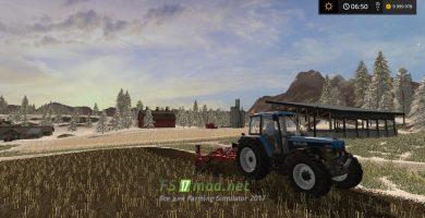 Зима в игре Farming Simulator 2017