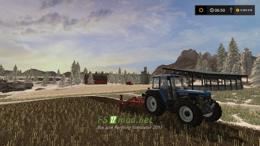скачать моды на farming simulator 2017 на зиму
