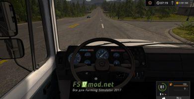 Мод грузовика ГАЗ-3309 для Farming Simulator 2017