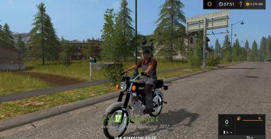 Фото мода мотоцикла «SIMSON S 51 E»