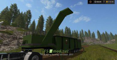 Дробилка щепы для Farming Simulator 2017