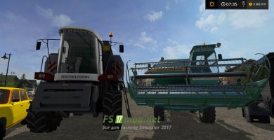 Мод Modspack by User для Farming Simulator 2017