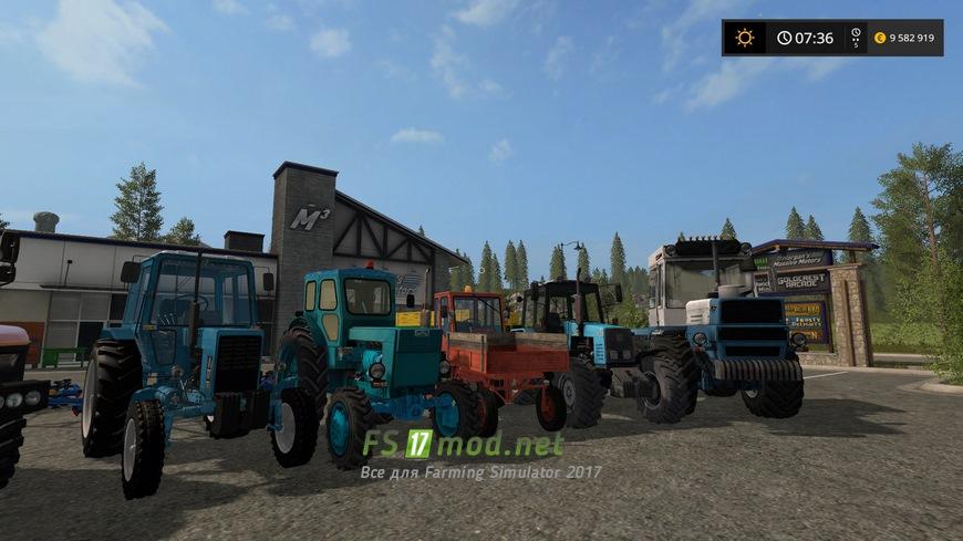 скачать русские моды для Farming Simulator 2017 - фото 4