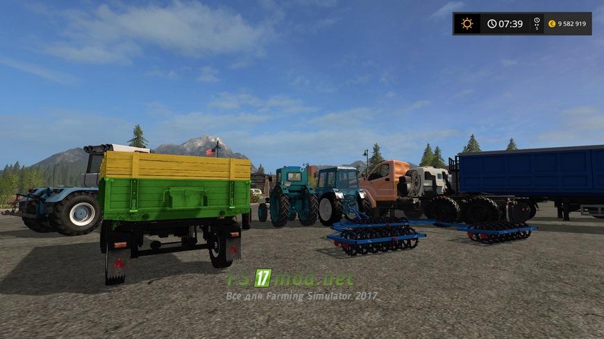 Скачать мод паки для farming simulator 2017