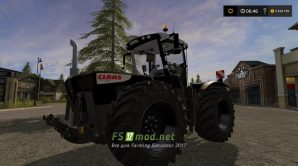 CLAAS XERION 3800 Black для Farming Simulator 2017