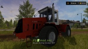 Кировец К-744 Р3 для Farming Simulator 2017
