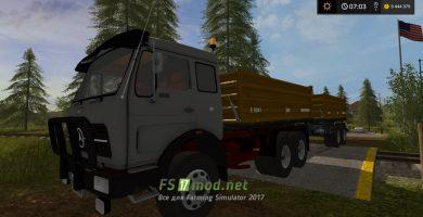 Модификация грузовика MB NG KIPPER