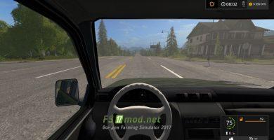 Мод автомобиля УАЗ 3163 «Patriot» для Farming Simulator 2017