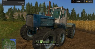 «Т-150 Prototypе» для Farming Simulator 2017