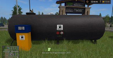 Мод объекта gasstation