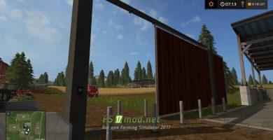 Откаточные ворота для Farming Simulator 2017