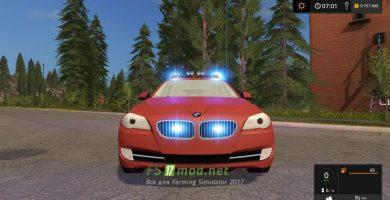 BMW 530D для Farming Simulator 2017