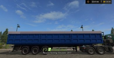 Мод прицепа для перевозки зерна в FS 2017