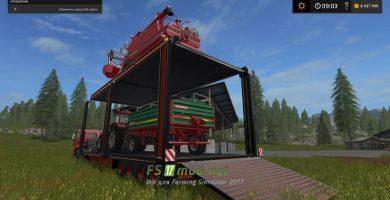 Bunk Tral — для перевозки техники в игре FS 2017