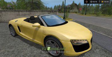 Мод автомобиля AUDI R8